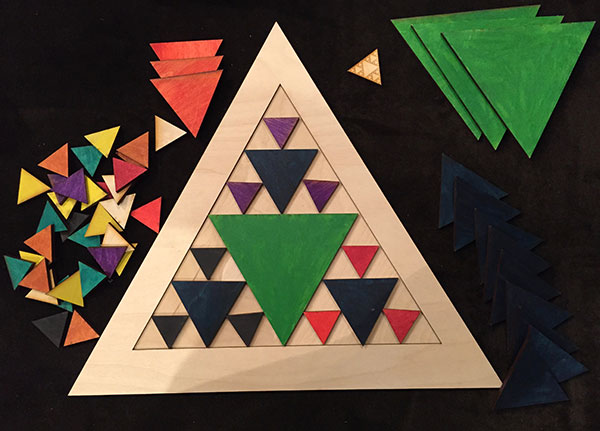 Sierpinski Triangle - Color